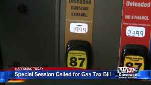 Special Session on Gas Tax Bill [Video]