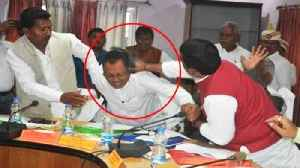 BJP MP beats party MLA with shoe, watch video |OneIndia News [Video]