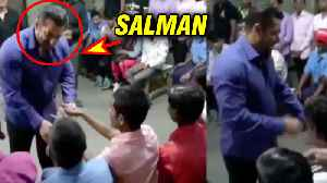 Salman Khan Gets EMOTIONAL Meeting Visually Impaired People Post Bharat Wrap Up | Watch Video [Video]