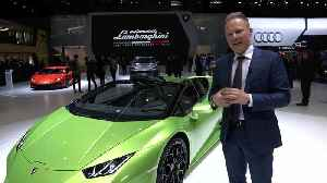 Mitja Borkert presents the new Lamborghini Huracan EVO Spyder [Video]