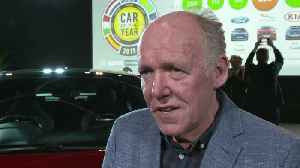 Jaguar I-Pace is European Car of the Year 2019 of Ian Callum at ECOTY [Video]