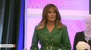 Melania Trump Delivers Remarks At International Women Of Courage Awards [Video]