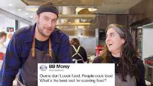 Bon Appétit's Brad & Claire Answer Cooking Questions From Twitter [Video]