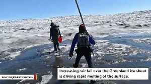 Scientists Find Winter Rain Is Causing Sudden Ice Melting Events In Greenland [Video]