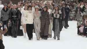 Watch: Inside Karl Lagerfeld's Heavenly Final Show for Chanel [Video]