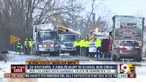 20 students hurt in Dearborn County bus crash [Video]
