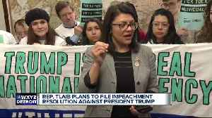 Tlaib rallies with Democratic colleagues in call for impeachment of President Trump [Video]