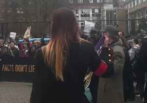 Michael Jackson Fans Protest Outside Channel 4 HQ Ahead of 'Leaving Neverland' Broadcast [Video]