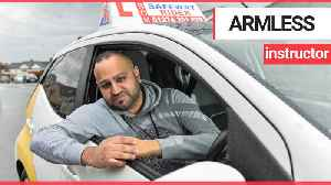 Man born with one arm fought against the odds to become driving instructor [Video]