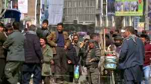 Rocket attack at former Afghan president Karzai rally [Video]