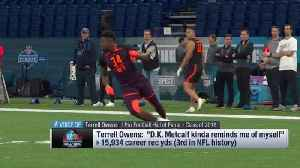Hall of Fame wide receiver Terrell Owens: Ole Miss WR 'D.K. Metcalf kinda reminds me of myself' [Video]