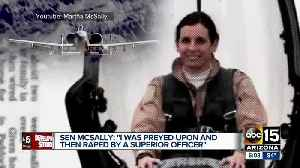 Senator Martha McSally tells Senate committee she was raped by a superior officer while in the Air Force [Video]