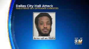 Naked Man Arrested For Allegedly Attacking Woman In Front Of Dallas City Hall [Video]