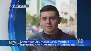 American Journalist Released After Being Taken By Venezuelan Security Forces [Video]