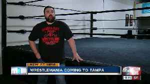 Local pro wrestlers weigh in on expected Wrestlemania announcement in Tampa [Video]