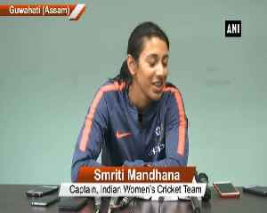 Smriti Mandhana expresses confidence in India's pace bowling attack [Video]
