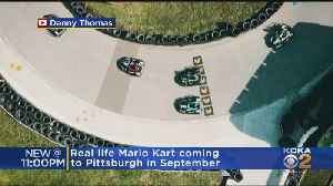 Real Life Mario Kart Coming To Pittsburgh [Video]
