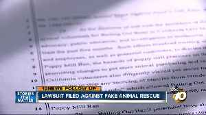 Lawsuit filed against group claiming to be animal rescue [Video]