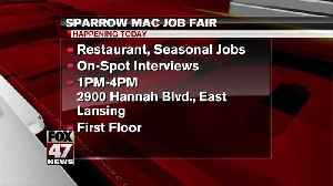 Sparrow Michigan Athletic Club holds Job Fair [Video]