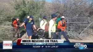 Fire crews rescue injured hiker on Ventana Trail [Video]