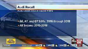 Audi recalls more than 75K vehicles due to fire risk [Video]
