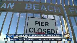 Officials hope to reopen Ocean Beach Pier by busy summer period [Video]