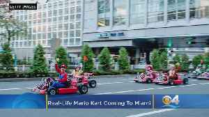Real-Life Mario Kart Coming To Miami [Video]
