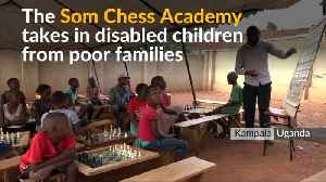 Ugandan chess school encourages disabled children to thrive [Video]