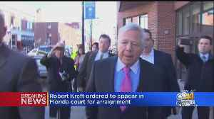 Arraignment Date Set For Robert Kraft In Florida Court For Prostitution Case [Video]