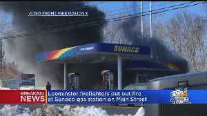 Leominster Gas Station Destroyed By Fire [Video]