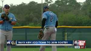 Rays new additions to 2019 roster [Video]