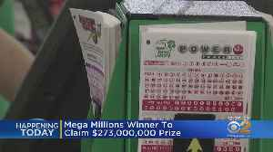 Mega Millions Winner To Claim His Prize [Video]