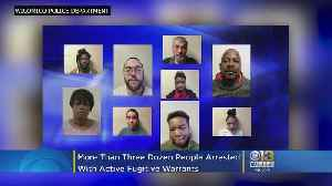 Three Dozen Arrested, Including A Dozen Gang Members, In Multi-State Fugitive Arrest Effort In Wicomico County [Video]