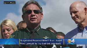Suspended Broward Sheriff Scott Israel Sues Florida Governor Ron DeSantis To Get Job Back [Video]