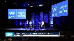 Creating a culture of positivity for student athletes [Video]
