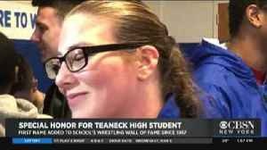 Female High School Wrestler Makes History In New Jersey [Video]