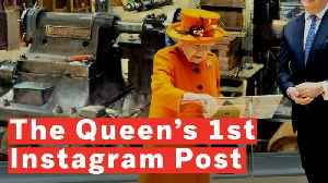 Queen Elizabeth II Publishes First Instagram Post [Video]