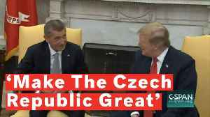 Czech Prime Minister Andrej Babis Praises Trump's 'Make America Great Again' Plan [Video]