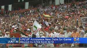 Game Between Hurricanes And Gators Moved Up A Week [Video]