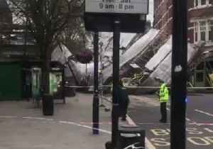London Buildings Evacuated as Scaffolding Collapses Near Royal Free Hospital [Video]