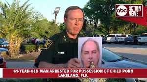 Presser: Lakeland man charged with multiple counts of child pornography [Video]