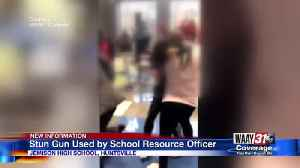 Stun gun used by school resource officer in Jemison High School fight [Video]