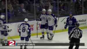 Crunch sink Comets with three-goal first [Video]