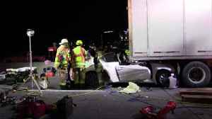 VIDEO 1 taken to hospital after crash onRoute 309 in Upper Saucon [Video]