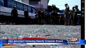 One Arrested Following Deadly Grenade Attack [Video]