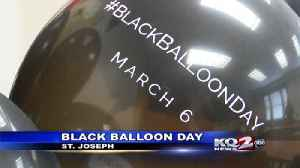 Black Balloon Day helps remember those lost to addiction [Video]
