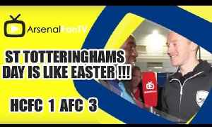 St Totteringhams Day Is Like Easter !!! | Hull City 1 Arsenal 3 [Video]