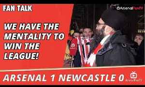 We Have The Mentality To Win The League!  | Arsenal 1 Newcastle 0 [Video]