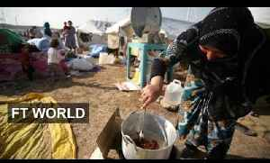 Ban Ki-moon visits Syrian refugees in Iraq | FT World [Video]