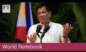 Philippine president battles ouster | World Notebook [Video]